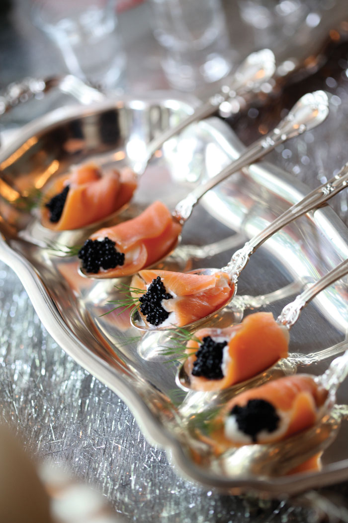 Partytipz entertaining with style and ease for Canape de caviar