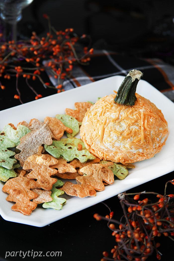 pumpkincheeseball
