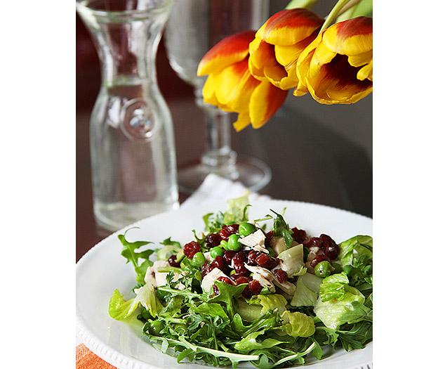 salad-smokedchickencranberry