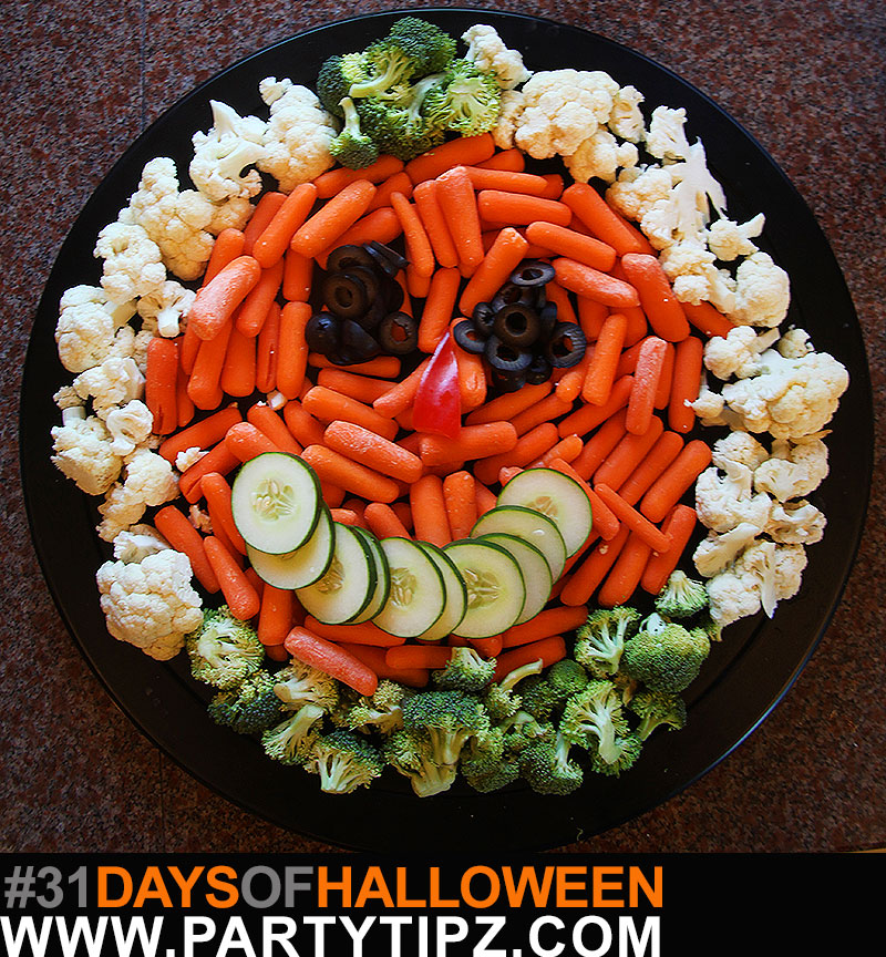 halloweenveggieplate