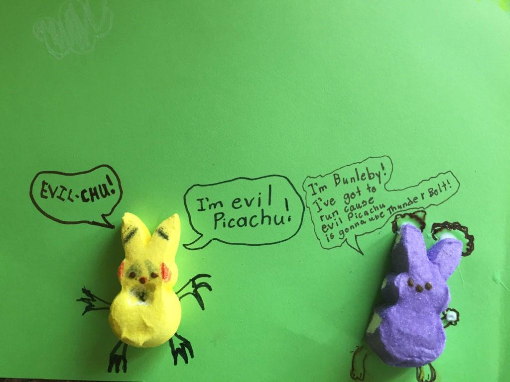 PEEPS Pikachu