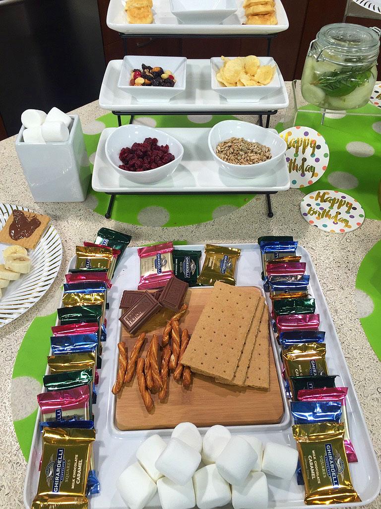 S'Mores, godiva, chocolate, fall, marshmallows, platter, dessert, sweets, dessert platter,