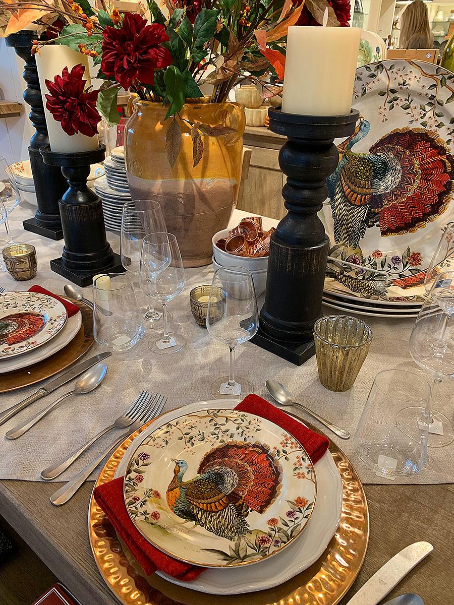 Thanksgiving, holidays, holiday table, holiday tablscapes, turkey, holiday celebration