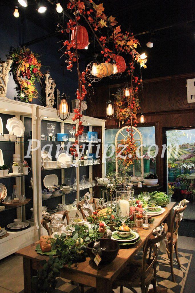 fall decor, partytipz.com, fall decorating, fall inspiration, fall table
